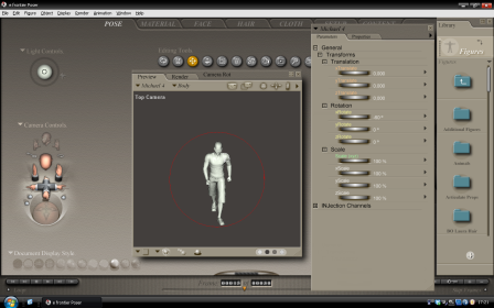 Character model in Poser