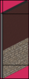 A wall sprite divided into sub-sprites